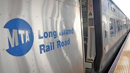 An LIRR train is seen on September 5,