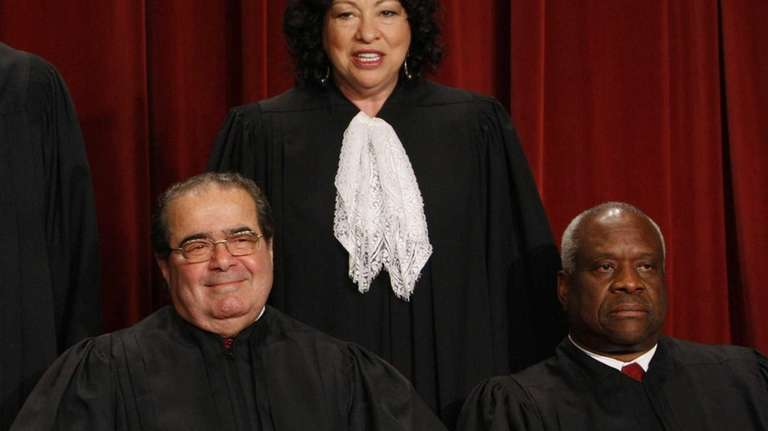Justice Antonin Scalia at the Supreme Court in