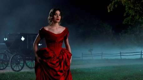 Hailee Steinfeld as Emily Dickinson in