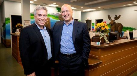 Dr. Jeffrey Schor and Steven Katz, at their