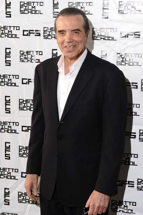 Actor Chazz Palminteri attends the Ghetto Film School