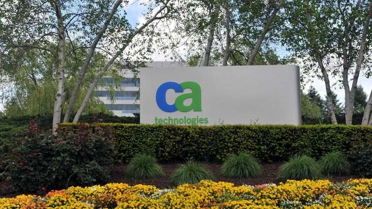Software maker CA Technologies said Tuesday its sales