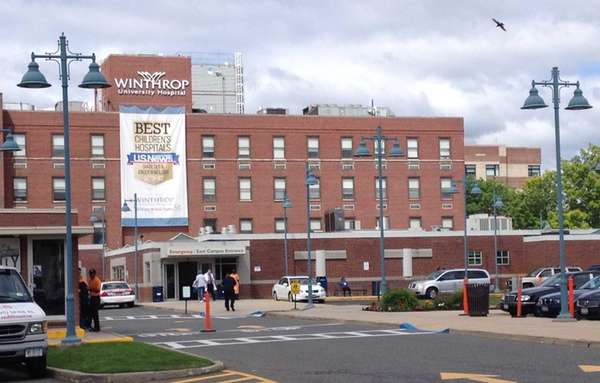 Winthrop University Hospital, located at 259 First St.,