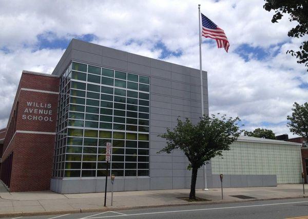 Willis Avenue School, at 121 Jackson Ave., is