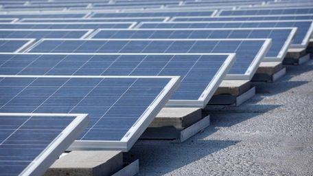 Development of renewable energy like solar-power projects is
