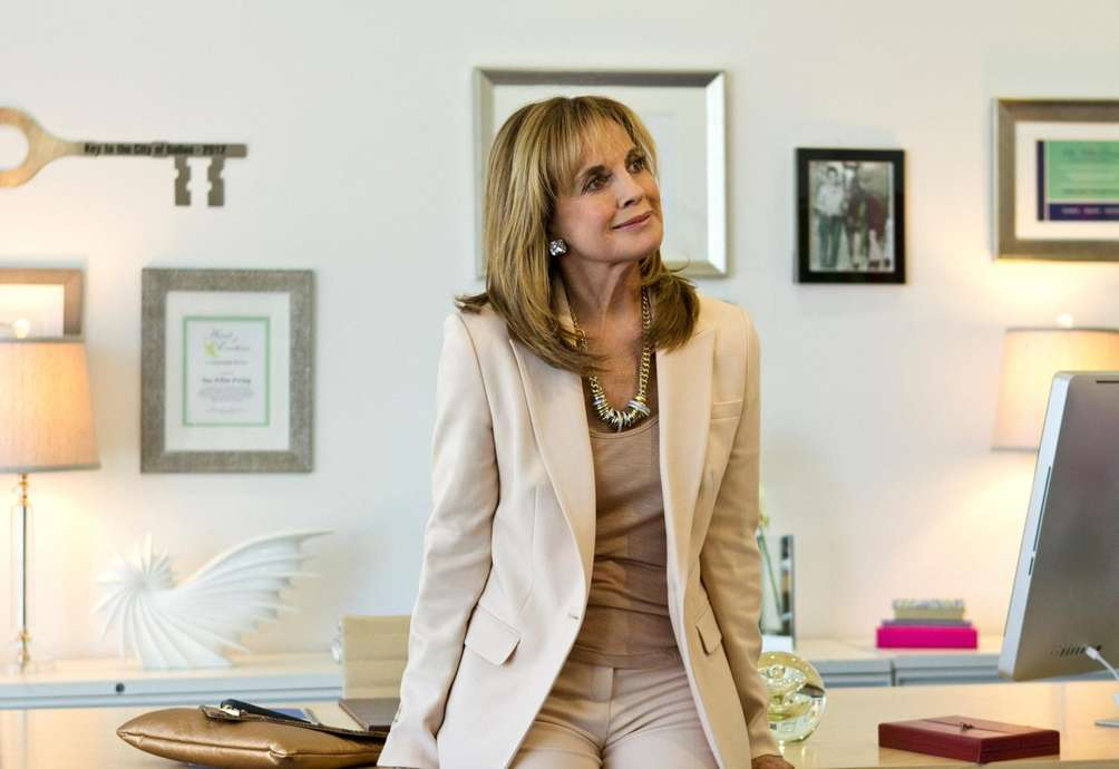 Sue Ellen Ewing (Linda Gray) in