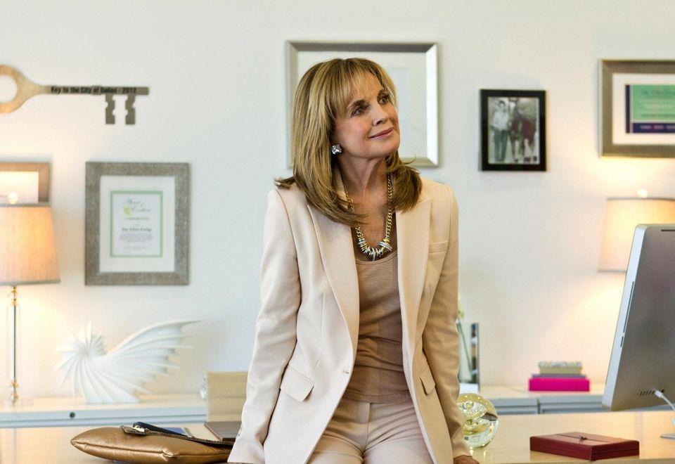 Sue Ellen Ewing (Linda Gray) in