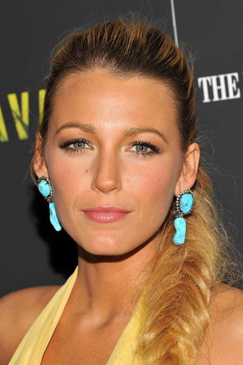 Actress Blake Lively attends the premiere of her