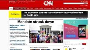 CNN.com screenshot