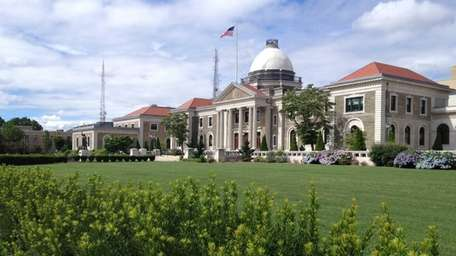 The Theodore Roosevelt Executive and Legislative Building is
