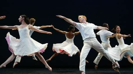 Dancers from the Limon Dance Company perform Lar