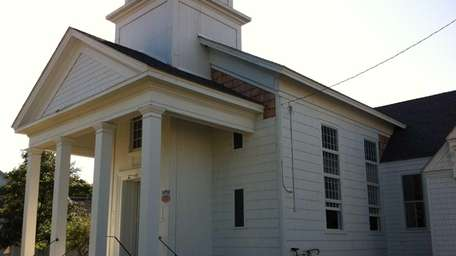 The Jamesport Meeting House was built in 1731