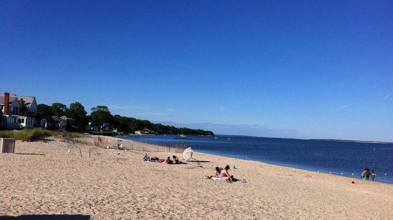 South Jamesport Beach Off Peconic Bay