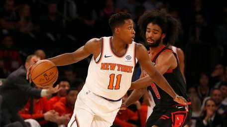 Frank Ntilikina gets his first start of the