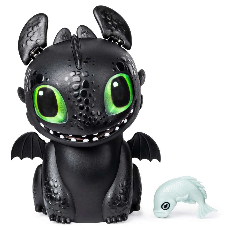 Hatch Toothless out of his packaged egg by