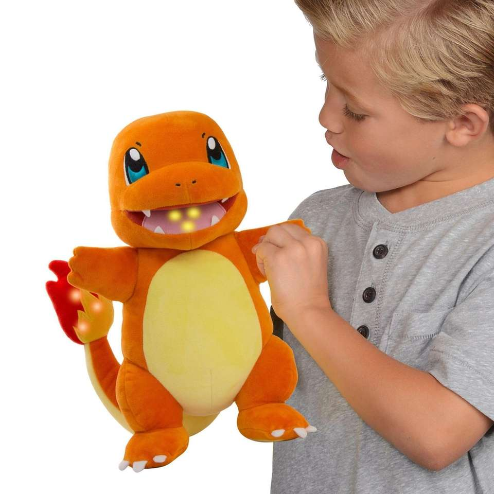 This 10-inch plush Pokemon character talks and features