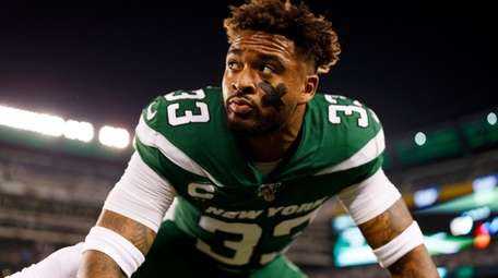 New York Jets strong safety Jamal Adams (33)