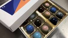 Artisanal bonbons from the new Bluebird Chocolates in