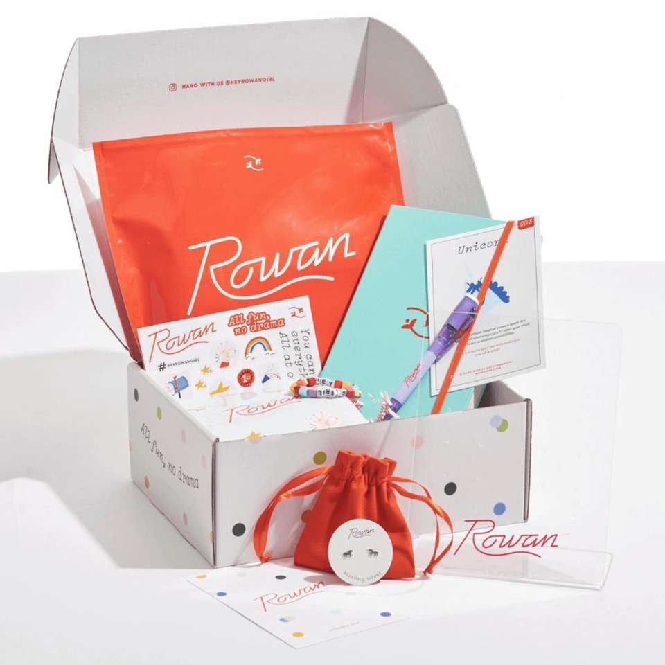Rowan, a tween lifestyle brand, launched monthly earring