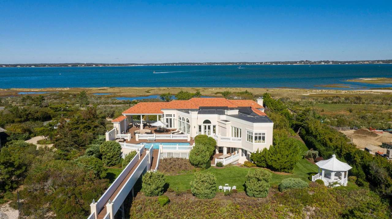Skin care queen's LI home drops $8M in price
