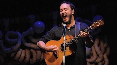 The Dave Matthews Band concert at Bethel Woods