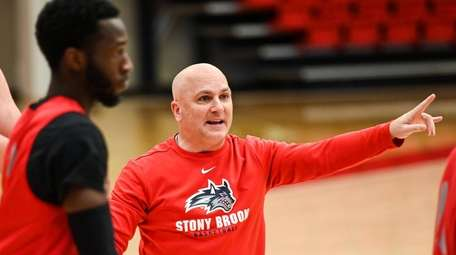 Stony Brook University men's basketball new coach Geno