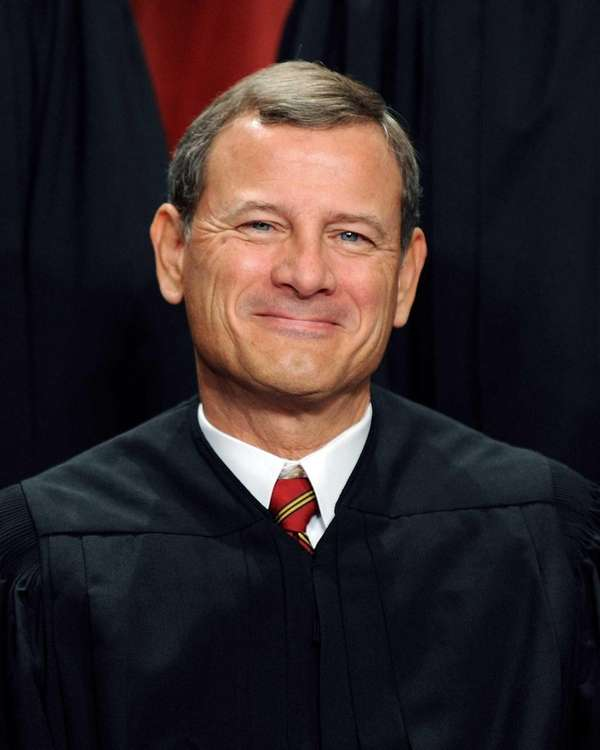 Supreme Court Chief Justice John G. Roberts presided