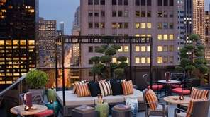 The Salon de Ning, a rooftop bar at