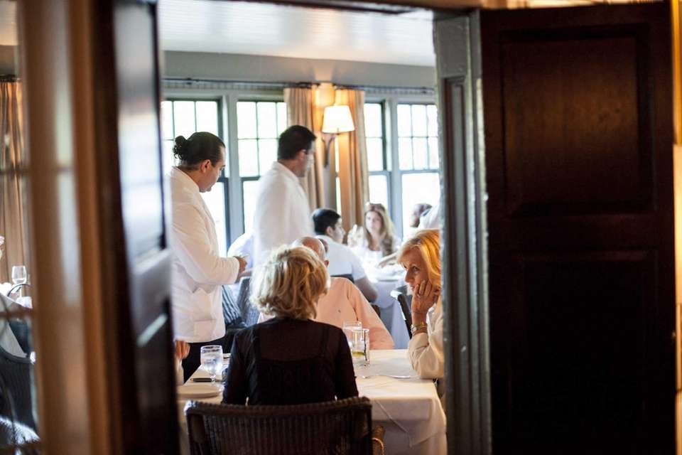 Hendrick's Tavern in Roslyn features several dining areas,