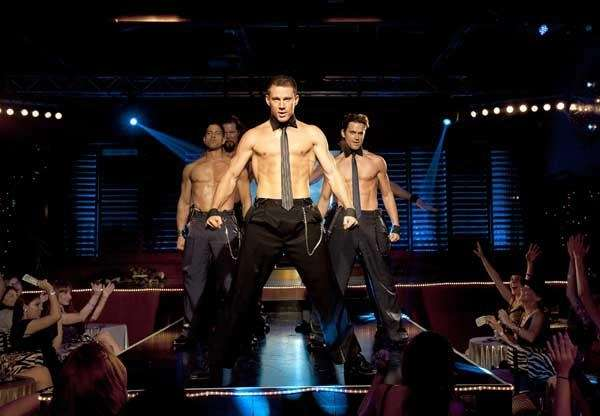 (L-R)cAdam Rodriguez, Kevin Nash, Channing Tatum, and Matt