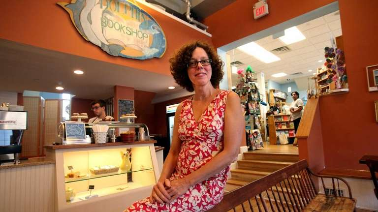 Dolphin Bookshop owner Patricia Vunk has won a