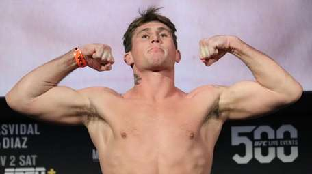 Darren Till appears at the UFC 244 ceremonial