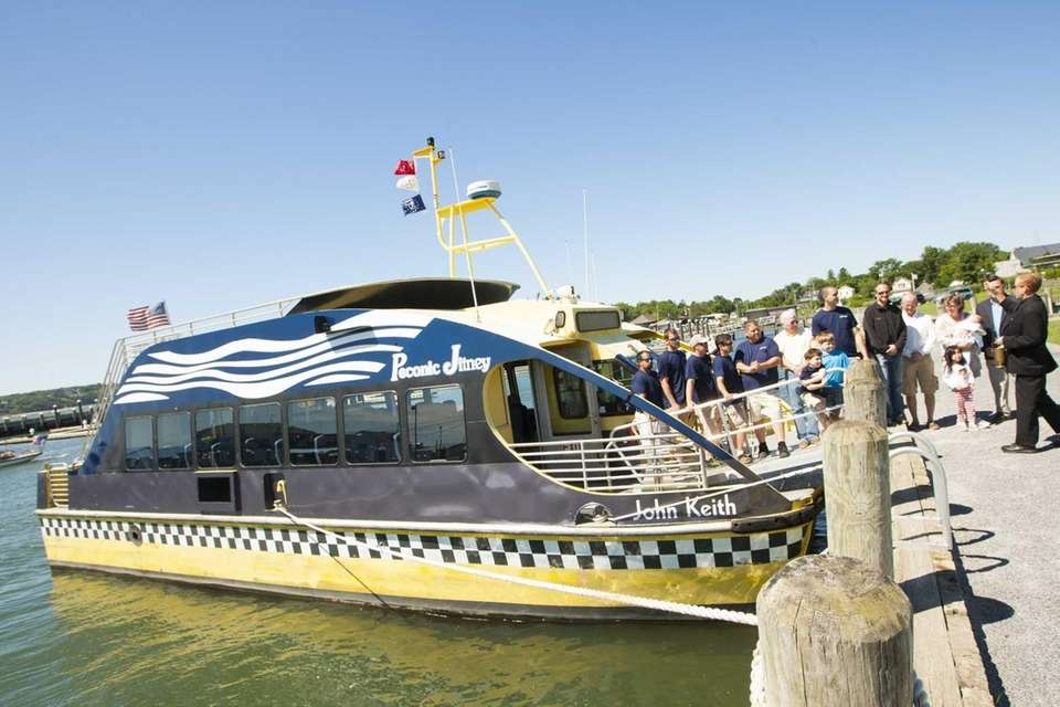The Peconic Jitney can carry 53 passengers on