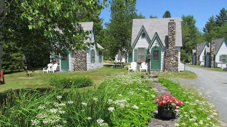 New Hampshires White Mountains Are Home To Many Charming Cabins