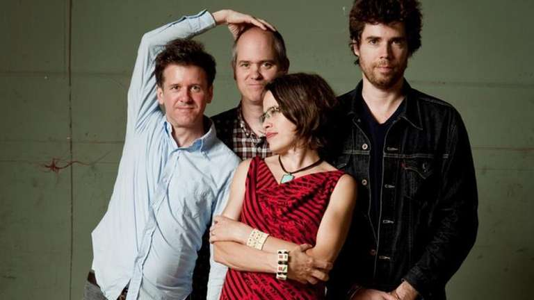 The members of the band Superchunk.