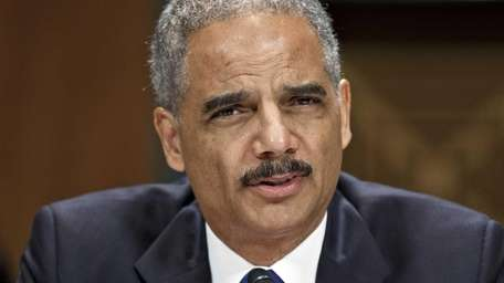 In this file photo, Attorney General Eric Holder