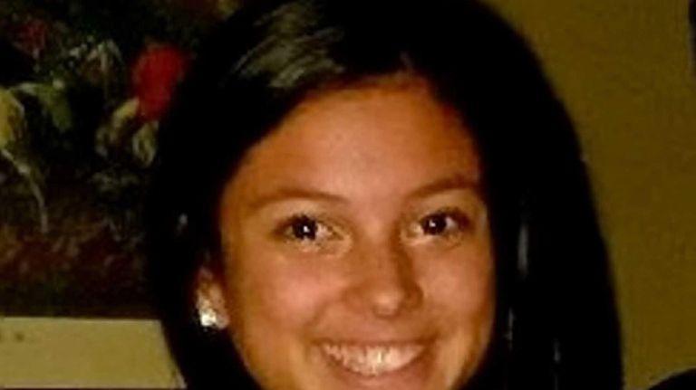 Alison Ortiz, a Commack High School sophomore, is