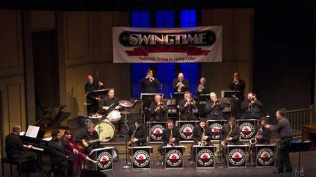 The Swingtime Big Band has a hot schedule