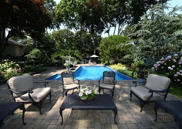 Susan Nussdorf says the backyard of her Huntington