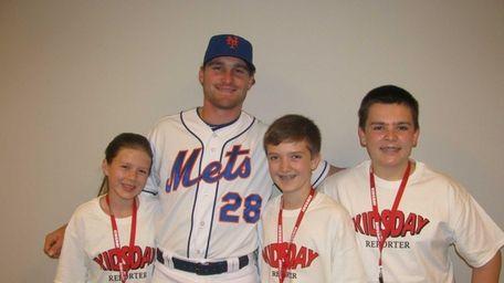 New York Mets second baseman Daniel Murphy with