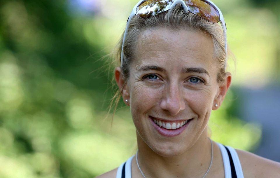 Sarah Reinertsen, a Huntington native, is a leg