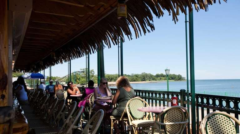 Pier Restaurant and Tiki Bar at Rye Playland.
