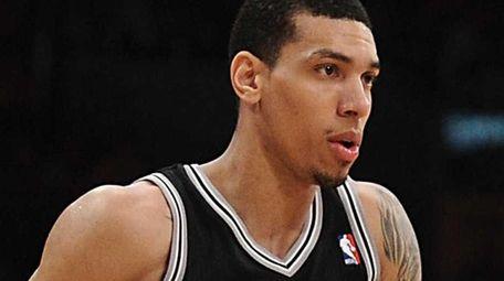 Danny Green of the San Antonio Spurs. (April