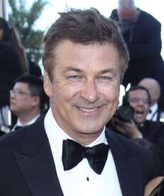 Actor Alec Baldwin arrives for the screening of