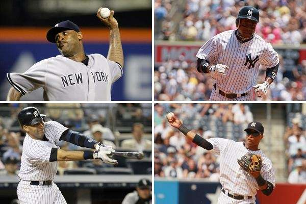 Four Yankees were selected to the All-Star game