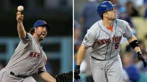 R.A. Dickey and David Wright will represent the