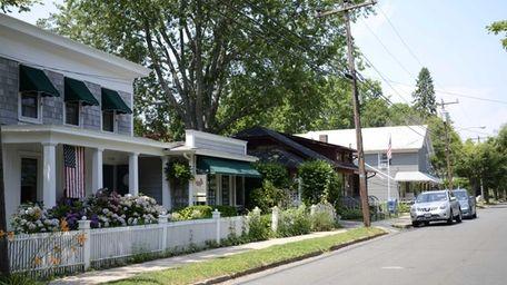Village Lane in Orient. (July 3, 2012)