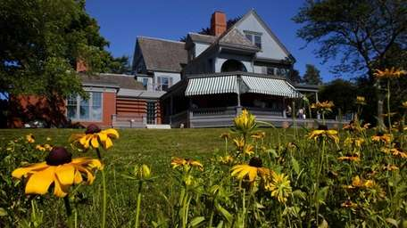 The restoration of Sagamore Hill after the historic