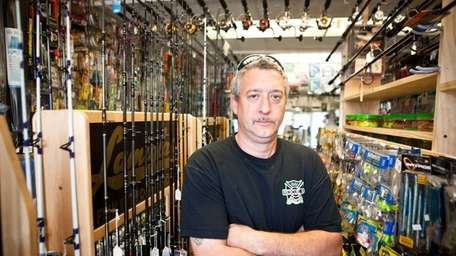 Robert Berry, owner of Hi-Hook Bait and Tackle