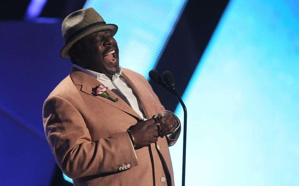 Cedric the Entertainer appears on stage at the